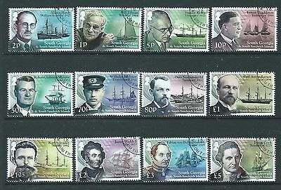 South Georgia  And South Sandwich Islands 2015 Ships And Explorers Fine Used