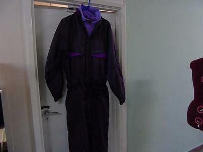 Nevica One Piece Purple Ski Suit  SIze 40M