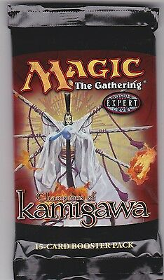 1 x unopened booster from Champions of Kamigawa (magic the gathering)