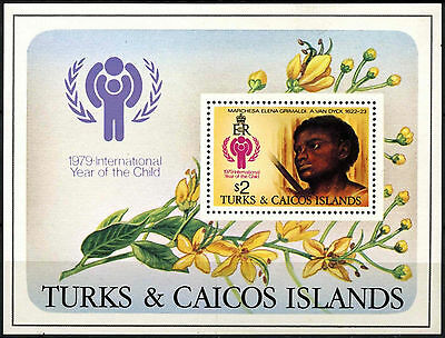 Turks & Caicos Is 1979 SG#MS544 Year Of The Child MNH M/S #D42282