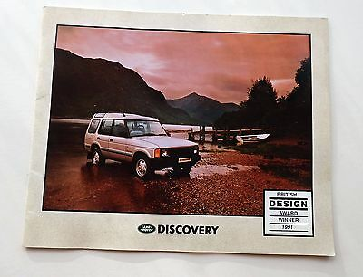 Land Rover Discovery Brochure