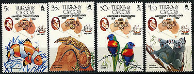 Turks & Caicos Is. 1984 SG#818-821 Ausipex Stamp Exhibition MNH Set #D42311