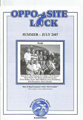 2007 W.s.r.a Opposite Lock Magazine Summer July Edition ( Excellent Condition )