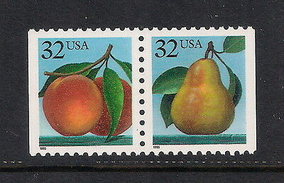 USA US mint stamps - 1995 Fruits Booklet Stamps, SG3079/3080, MNH