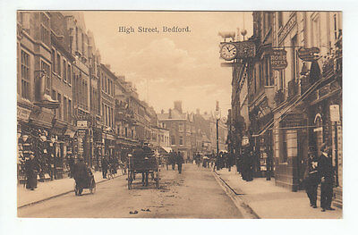 High Street Bedford Rose Hotel Shelton Picture Frame Makers  1914 Boots Chemists