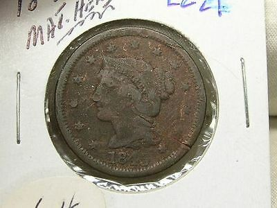 US 1843 Large Cent  (lc21)