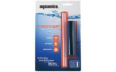 Aquamira 67005 Frontier Filter Emergency Water Filter System 20 Gallons