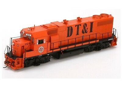 Athearn ATHG65314 HO Scale GP38-2 Phase 1a DT&I #225 DCC Ready Locomotive