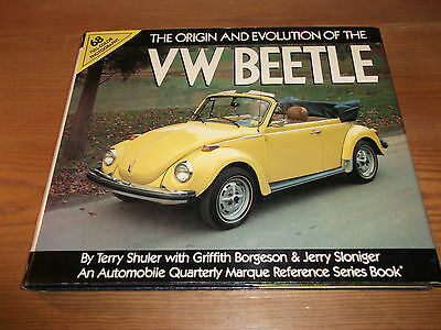Book. The Origin and Evolution of the VW Beetle. Automobile Quarterly Marque Ref