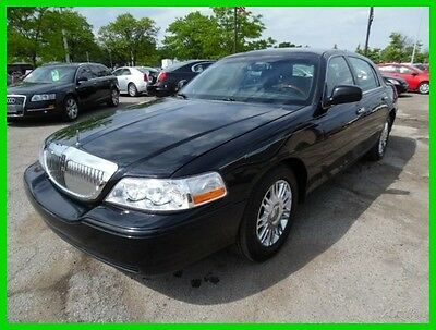 2008 Lincoln Town Car Limited 2008 Limited Used 4.6L V8 16V Automatic RWD Sedan clean clear title carfax one