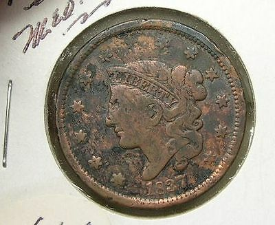 US 1837 Large Cent (lc22)