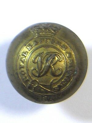Royal Sappers&Miners original Victorian Button.