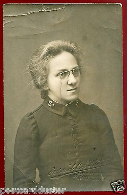 2822 - ENGLAND 1910s Salvation Army Woman RPPC by Imperial Studio,Bournemouth