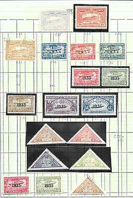 Paraguay - 1200+ assorted stamps on pgs.