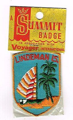 Collectable Cloth Patch Lindeman Island Great Barrier Reef 1