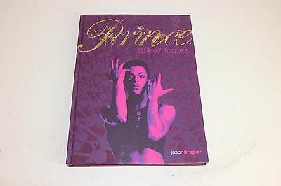 Prince - Life and Times Book by Jason Draper