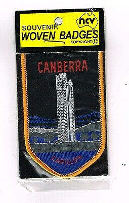 Collectable Cloth Patch Canberra Carillon