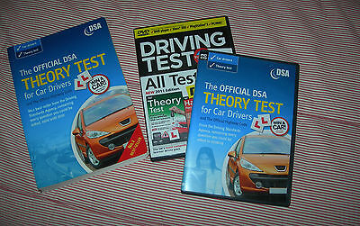 DRIVING TEST THEORY + HAZARD PERCEPTION 3 in 1 DVD