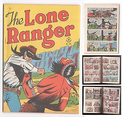 Dell Four Color 125 1942 Series The Lone Ranger 1946 VF 85