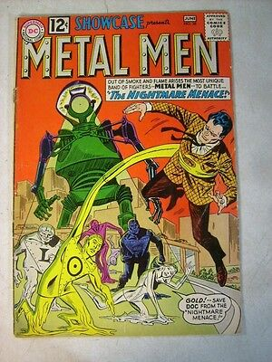 SHOWCASE #38 KEY ISSUE, 2nd METAL MEN, 1962, THE NIGHTMARE MENACE!!
