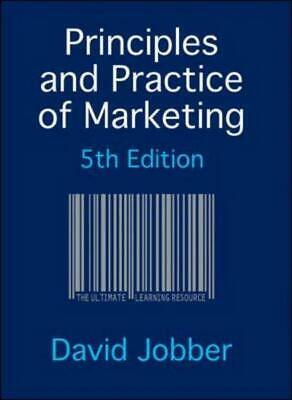 Principles and practice of marketing by David Jobber (Mixed media product)