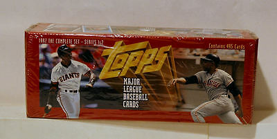 1997 Topps Baseball Factory Sealed 495 Complete Card Box Set Series 1 & 2