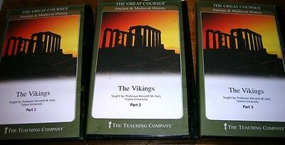 History Vikings Sweden Norway Ireland Iceland Denmark University Audio Course
