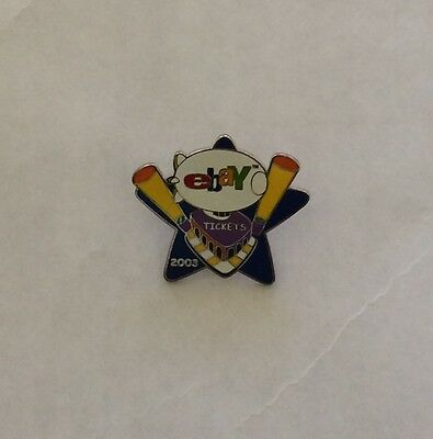 Ebay live 2003 Tickets pin - unopened  New