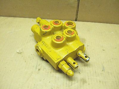 NEW CASE 1816 Uniloader Skid Steer Loader Hydraulic Control Valve Two Spool