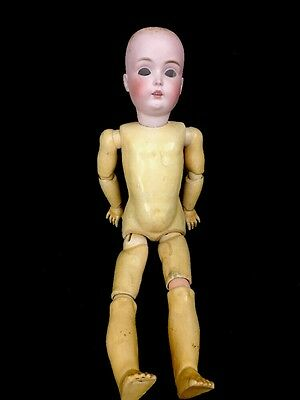 """Antique German Bisque Child Doll Kestner 171 Mold Ball Jointed Body 20"""""""
