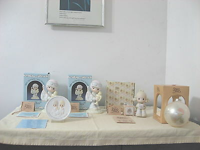 Precious Moments Lot O Four Members Only Figurines And One Ornament
