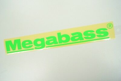 Megabass CUTTING STICKER 30cm #GREEN