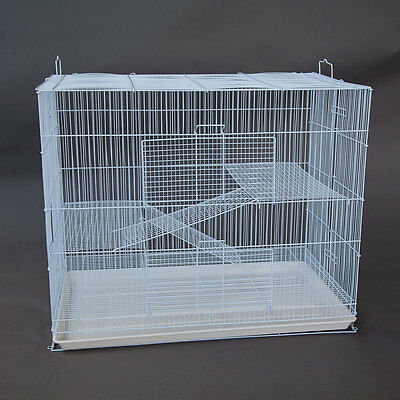 3 Tier Pet Cage for Cat Ferret Guinea Pig Hamster Rat Sugar Glider Chinchilla