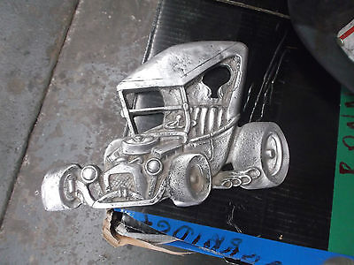 Rat  Rod  Hot Rod     Ford  T  Bucket .. Old  ...usa   Cast  Alloy  Plaque...