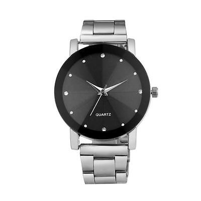 Luxury Quartz Sport Stainless Steel Dial Stainless Band Wrist Watch 1