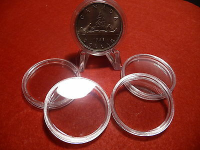 CANADIAN COIN CAPSULES   36mm  (pkg of 5 ) SILVER DOLLARS (#4)