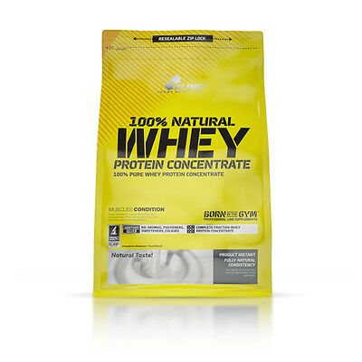 21,14€/kg Olimp 100% NATURAL WHEY PROTEIN CONCENTRATE reines Protein Pulver 700g