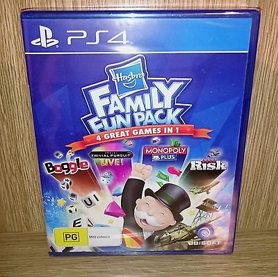 Hasbro Family Fun Pack PlayStation 4 (PS4) - Brand New & Sealed