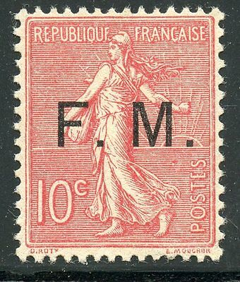 Promo / Stamp / Timbre France De Franchise Neuf N° 4 **  Cote 130 €