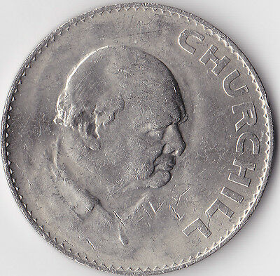 1965 Crown Coin Commemorating the death of Winston Churchill