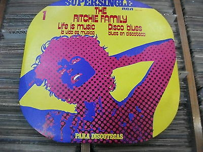 THE Ritchie Family – Life Is Music / Disco Blues  ' 12''  MINT SPAIN