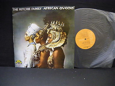 The Ritchie Family – African Queens ' LP MINT SPAIN PRESS 1977