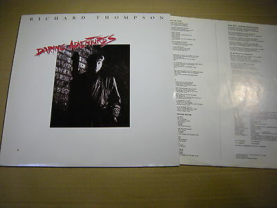 Richard Thompson ‎– Daring Adventures ' LP N.MINT / MINT