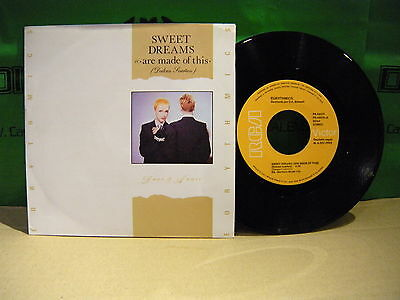 Eurythmics – Sweet Dreams (Are Made Of This) (Dulces Sueños) ' 7'' MINT SPAIN