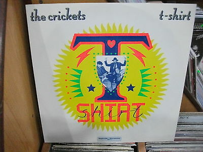THE Crickets ‎– T-Shirt ' 12''  MINT 1988