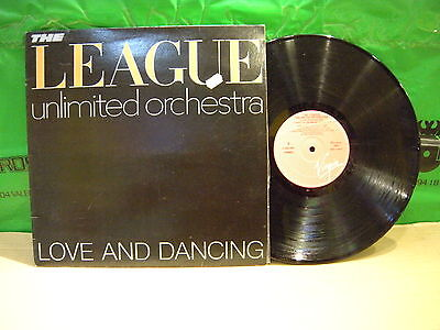 THE League Unlimited Orchestra – Love And Dancing ' LP MINT SPAIN PRESS