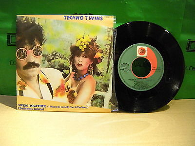 Techno Twins – Swing Together  ' 7'' MINT SPAIN