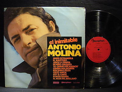 Antonio Molina – El Inimitable ' LP VG+