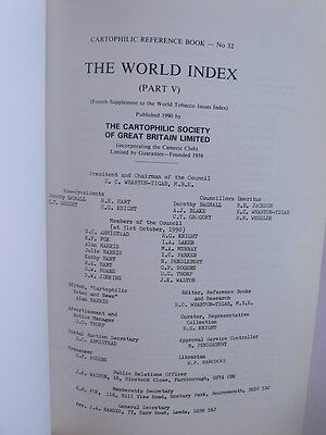 Cartophilic Reference.Book 32.World Index Part 5.Cigarette Cards.Ogden's.Wills