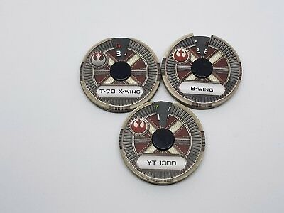 Star Wars X-Wing Miniatures Game Movement Dials New
